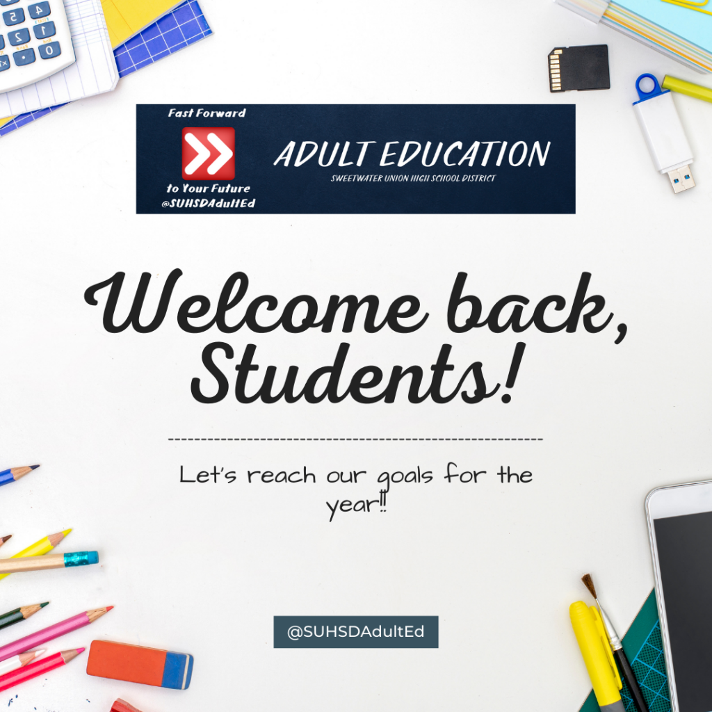 Welcome back from Fall 2021 break, students flyer